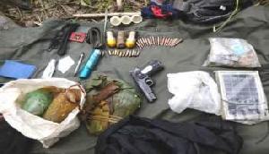 महिला के पास से हथियार और गोला-बारूद बरामद, उग्रवादी संगठन से है सीधा कनेक्शन
