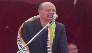 नेता का बड़ा बयान, '10 रिक्टर स्केल का भूकंप भी नहीं हिला सकता इस पार्टी को'