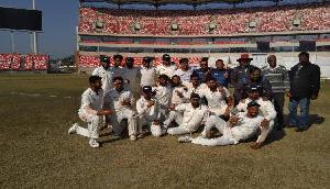 रणजी ट्रॉफी: उत्तराखंड की ऐतिहासिक जीत, मिजोरम को पारी और 56 रन से हराया