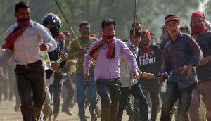 त्रिपुरा के प्रदर्शनकारियों पर प्रशासन की गोलीबारी,  आसू की निंदा
