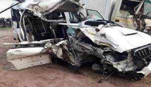 सड़क दुर्घटना में तीन लोगों की हुई मौत, एक गंभीर रूप से घायल