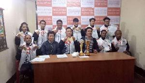 सिक्किम के खिलाडिय़ों ने 10 स्वर्ण, 5 रजत एवं 6 कांस्य पदक जीते