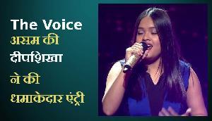 The Voice में असम की दीपशिखा ने की धमाकेदार एंट्री, रहमान ने कहा जबरदस्त