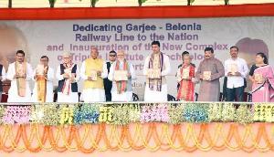 PM मोदी ने किया बिप्लब देब की पुस्तक का विमोचन