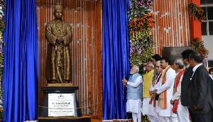 PM मोदी ने किया हिंदू राजा बीर बिक्रम माणिक्य की प्रतिमा का अनावरण