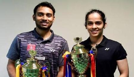 बैडमिंटन: सायना ने खिताब पर फिर जमाया कब्जा, सौरभ तीसरी बार बने विजेता