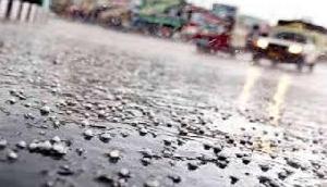 अगले 24 घंटे में तेज हवाओं के साथ बारिश-ओले गिरने का अनुमान