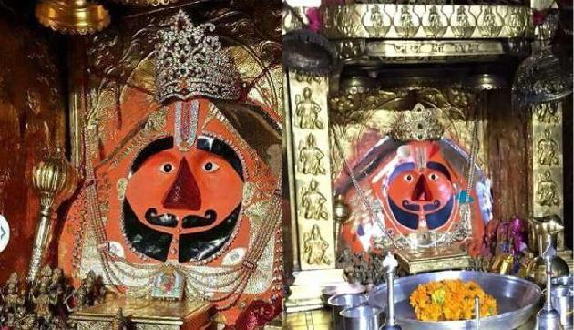 एकमात्र ऐसा मंदिर जहां हनुमान रखते है दाढ़ी और मूंछ, सच्चाई हैरान करने वाली