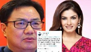 बीजेपी ने नेता को भारी पड़ा रवीना टंडन को जवाब देना, यूजर्स ने पूछा 'आप ट्रेलव एजेंट हो?'