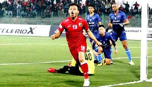 एजल एफसी से हारकर शिलांग लाजोंग आई लीग से रेलीगेट