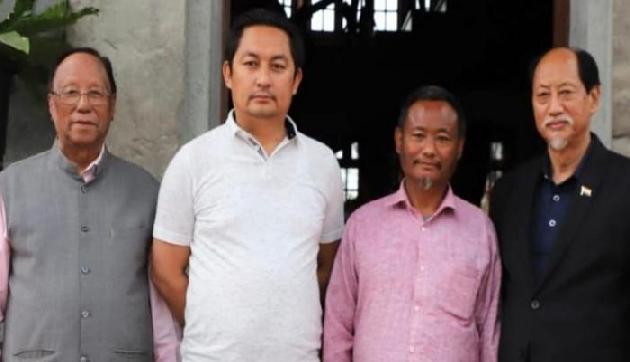 चुनाव पूर्व नागालैंड में एनपीपी के दो विधायक एनडीपीपी में शामिल