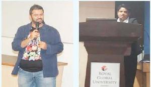 निखिल तनेजा व डाॅ. डोला दास ने विद्यार्थियों के साथ की अतरंग बातचीत
