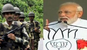अफ्सपा पर कांग्रेस की योजना से सशस्त्र बल खतरे में: मोदी