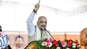 कांग्रेस पर बरसे गृह मंत्री अमित शाह, कहा- 'कांग्रेस के वादे को भाजपा सरकार ने पूरा किया
