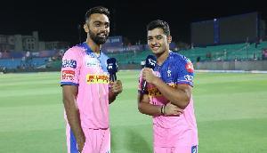 IPL: विकेट लेने के बाद राजस्थान के इस गेंदबाज ने किया जोरदार डांस, वीडियो हुआ वायरल
