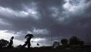 40 किमी प्रति घंटे की गति से तेज आंधी और गरज के साथ बारिश की चेतावनी