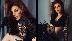 फोटोशूट में दिखा अभिनेत्री का ब्लैक बोल्ड अवतार, तस्वीरें हुईं वायरल
