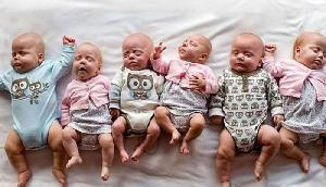 इस महिला ने छह जुड़वां बच्चों को जन्म दिया, जानिए पूरी खबर