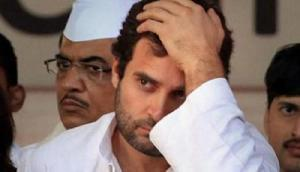 भाजपा कार्यकर्ताओं ने फूंका राहुल गांधी का पुतला, कांग्रेस ने लगाया ऐसा गंभीर आरोप