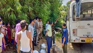 ब्रू शरणार्थियों के हमले में अधिकारी समेत चार पुलिसकर्मी घायल