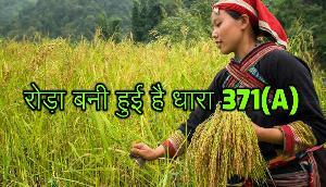 नागालैंड के विकास में रोड़ा बनी हुई है धारा 371(A), जानिए क्यों