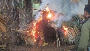 अरुणाचल प्रदेश में NSCN-K शिविर का भंडाफोड़, प्रशिक्षण शिविर नष्ट किए