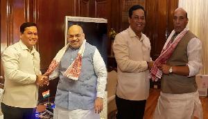 नए गृहमंत्री अमित शाह और रक्षामंत्री से मिले बीजेपी के कद्दावर मुख्यमंत्री, की ऐसी बड़ी मांग