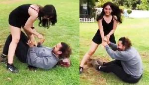 इंटरनेट पर viral हो रहा है आमिर खान और उनकी बेटी इरा खान का वीडियो