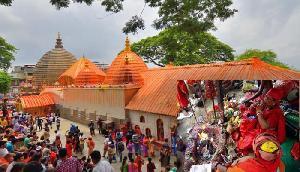 कामाख्या देवी मंदिर में जुट रहे देशभर के तांत्रिक, अंबुवासी मेला शुरू