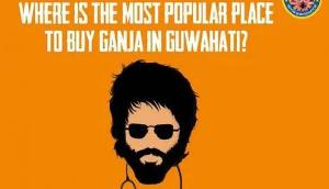 कबीर सिंह के कार्टून का इस्तेमाल पर पुलिस ने जनता से पूछाः कहां मिलता है गांजा