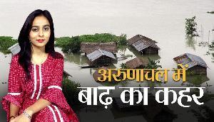 अरुणाचल में बादल फटने से भीषण बाढ़, खतरे में 800 लोगों की जान