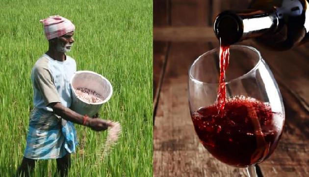 किसानों पर मेहरबान हुई भाजपा सरकार, शराबियों पर ढ़ाया कहर