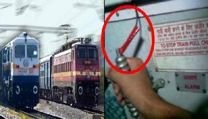 चलती ट्रेन की चेन खींचना पड़ा भारी, 40 लोगों को किया गिरफ्तार
