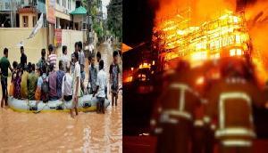 किस्मत का खेल, एक तरफ बाढ़ तो दूसरी तरफ आग से घिरा भारत का ये मशहूर शहर