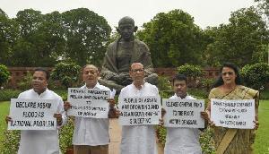 असम बाढ़ को लेकर कांग्रेस ने की बड़ी मांग, राष्ट्रीय आपदा घोषित की जाए