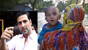 एक फोटो देख कर पसीजा अक्षय कुमार दिल, बाढ़ पीड़ितों को दिए करोड़ों रूपए और कही ये बात