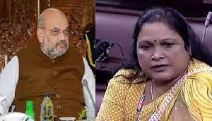 देश के गृहमंत्री अमित शाह पर विपक्षी पार्टी की महिला सांसद ने लगाया बड़ा आरोप
