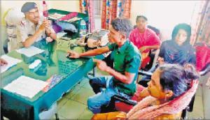 अगरतला से दिल्ली जा रहे चार रोहिंग्या गिरफ्तार