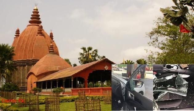 असम के शिवसागर में बड़ी लूट, यात्रियों की कार से उड़ाए पैसे और फोन