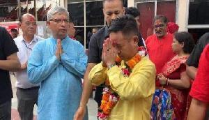 सिक्किम के मुख्यमंत्री ने मां कामाख्या धाम में की पूजा-अर्चना