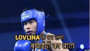 बॉक्सर Lovlina ने जीता Gold मेडल, लगा बधाईयों का ताता
