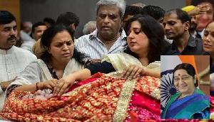 पूूर्वोत्तर के नेताओं ने सुषमा के निधन पर शोक जताया