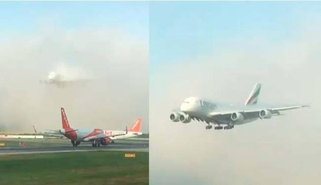 हवाई जहाज की Landing का Video हो रहा है Viral, बेहद खूबसूरत है नजारा