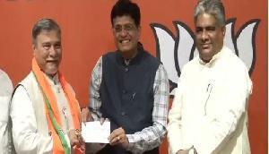 कांग्रेस को धारा 370 का विरोध पड़ा भारी, सांसद भुबनेश्वर कालिता भाजपा में शामिल