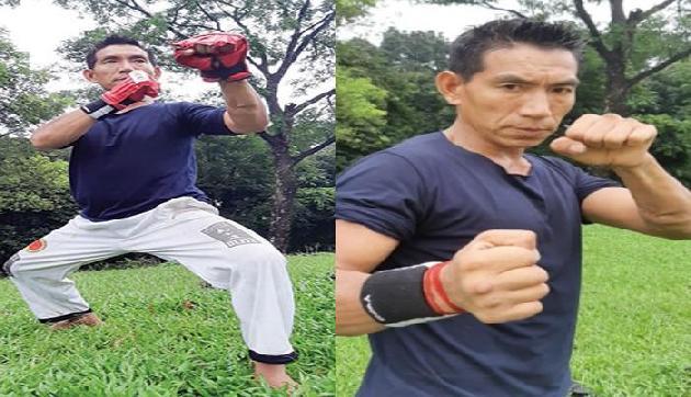 मार्शल आर्ट में मेडल जीतकर अपने राज्य पहुंचा खिलाड़ी, ऐसे हुआ स्वागत