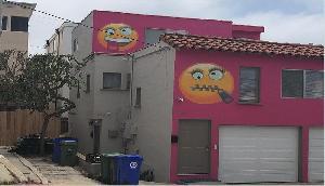 महिला ने घर की दीवार पर बनवाई इमोजी, पड़ोसन बोली- मुझे चिढ़ाने के लिए ऐसा किया है
