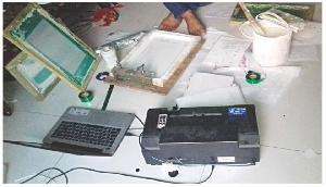 घर में ही लगा रखी थी नोट छापने वाली मशीन, पुलिस ने मारा छापा तो उड़े सभी के होश
