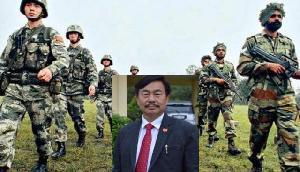 बीजेपी सांसद का दावा-चीनी सेना ने भारतीय सीमा में घुस कर बनाया ब्रिज, सेना ने किया खारिज