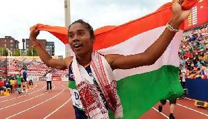अब दोहा में परचम लहराएंगी गोल्डन गर्ल हिमा दास, विश्व एथेलेटिक्स चैंपियनशिप में हुई शामिल