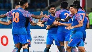 भारतीय टीम ने कतर के साथ ड्रा खेला